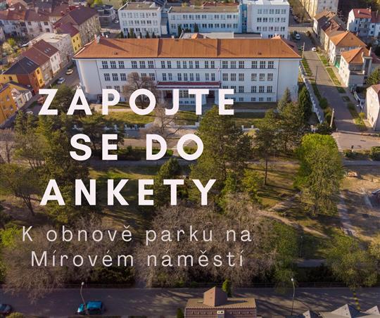 anketa k obnově parku na Mírovém náměstí